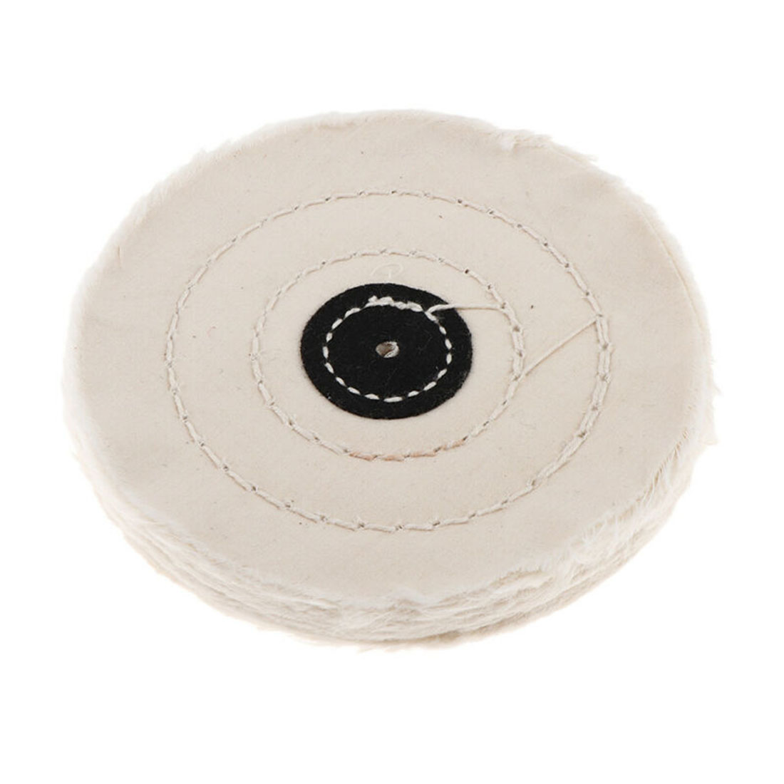 5inch 50 Layer Cotton Cloth Buffing Wheel Pad Polishing Jewelry Accessories Wood Pad Abrasive Accessories For Metal Jewelry