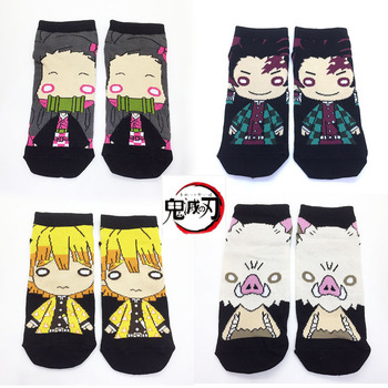Japan Anime Dragonball Kimetsu No Yaiba Demon Slayer American cartoon Peripheral Stockings image