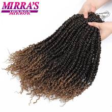 Passion Twist Crotchet Hair Extensions Synthetic Ombre Crochet Braids