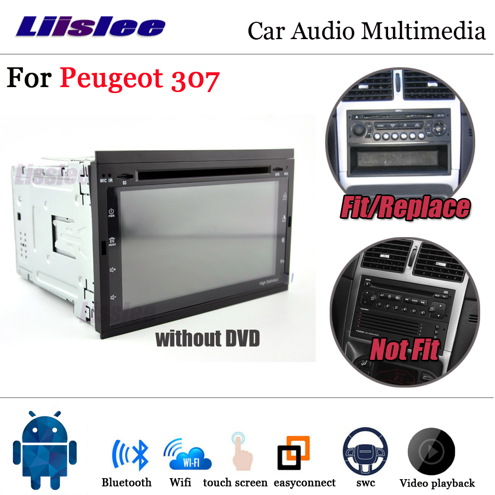 Car Multimedia Player For Peugeot 307/307CC/307SW 2001~2014 Stereo Android Radio Media GPS Navi Map Navigation System