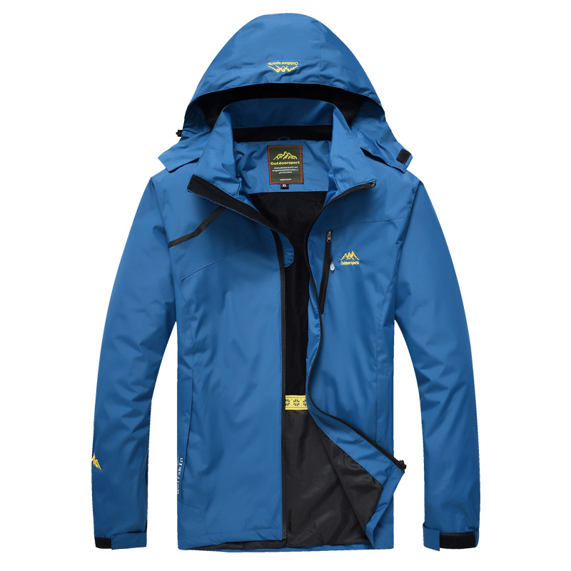 Manufacturers Direct Selling Wholesale Outdoor Single Layer Raincoat Jacket Sports Clothing Men And Women Thin Windproof Waterpr