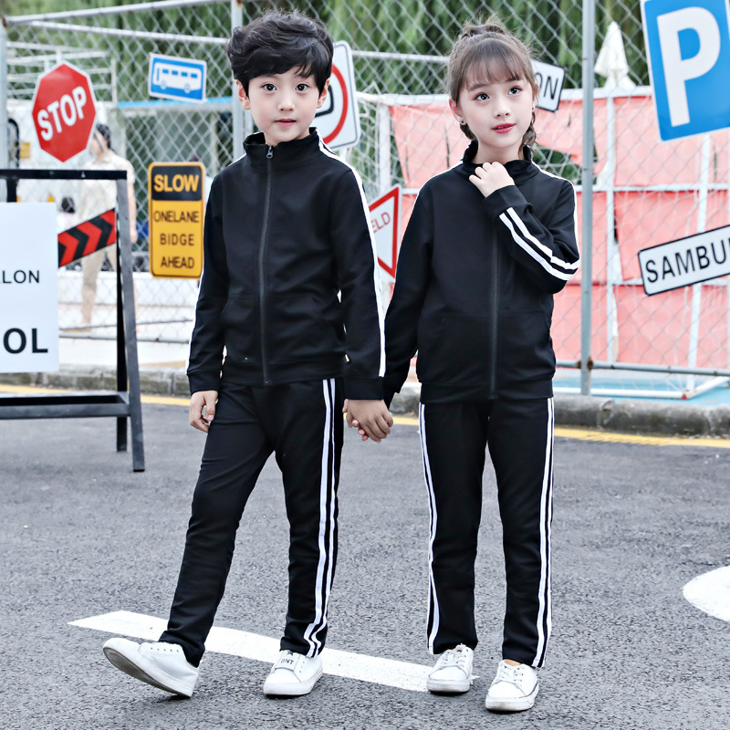 Childrenswear 2019 New Style Spring And Autumn Two-Piece Set Primary School STUDENT'S School Uniform Kindergarten Suit Universit