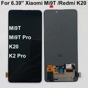 Image 1 - AAA الأصلي Amoled ل 6.39 شاومي Redmi K20 LCD عرض تعمل باللمس محول الأرقام الجمعية ل شاومي Mi 9t ل Redmi K20 برو