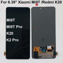 AAA Original Amoled pour 6.39 Xiaomi Redmi K20 LCD écran tactile numériseur assemblée pour Xiaomi Mi 9t pour Redmi K20 Pro
