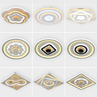 LED panel Light dimmable Ceiling Panel APP Control Dustproof Intelligent Home For Kitchen bedroom dinner Children living room