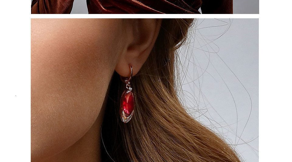 Hee9aedc185de43f6ab71fe82c91a64f9X - WEGARASTI Silver 925 Jewelry Earrings Ruby Fine Jewelry Classic Vintage Earring Party Pomegranate Sterling silver Red Earrings