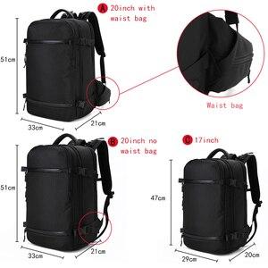 Image 5 - OZUKO sac à dos hommes voyage pack étanche sac ordinateur portable mâle école bagages USB grande capacité multifonctionnel femmes antivol