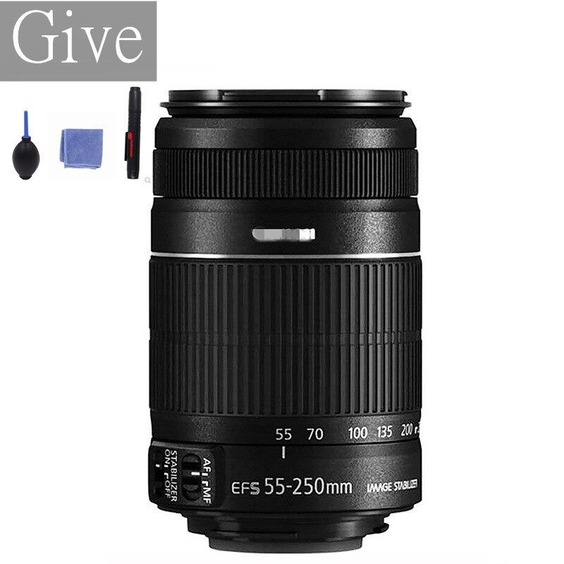 Б/у объективы Canon EF-S 55-250 мм f/4-5,6 IS для 650D 700D 750D 760D 1200D 1300D T3i T6 T5i T5 60D 70D 80D