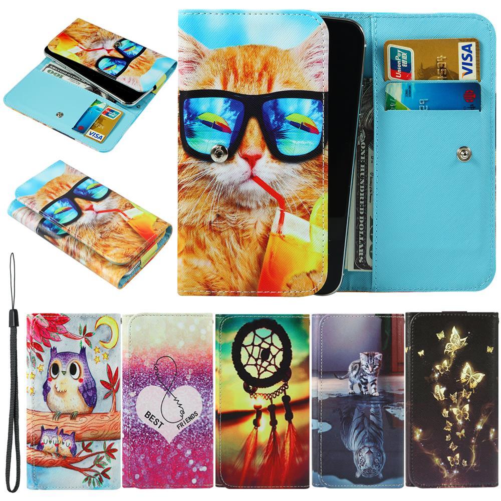 For LG X5 Class G Flex 2 Stylo G4 Stylus G4c G4s Beat Google Nexus 5X Leon LTE Magna Max Bello II Ray Wallet Cover Phone Case