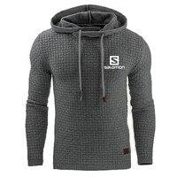 2019 New Fashion Hoody Mens Pullover Salomon Print Men Hoodies Sweatshirts Casual Coat Hooded Sweatshirt man s