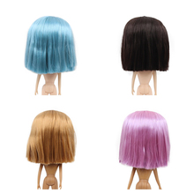 blyth doll icy wig only rbl scalp and dome straight hair oily hair greasy hair toy scalp