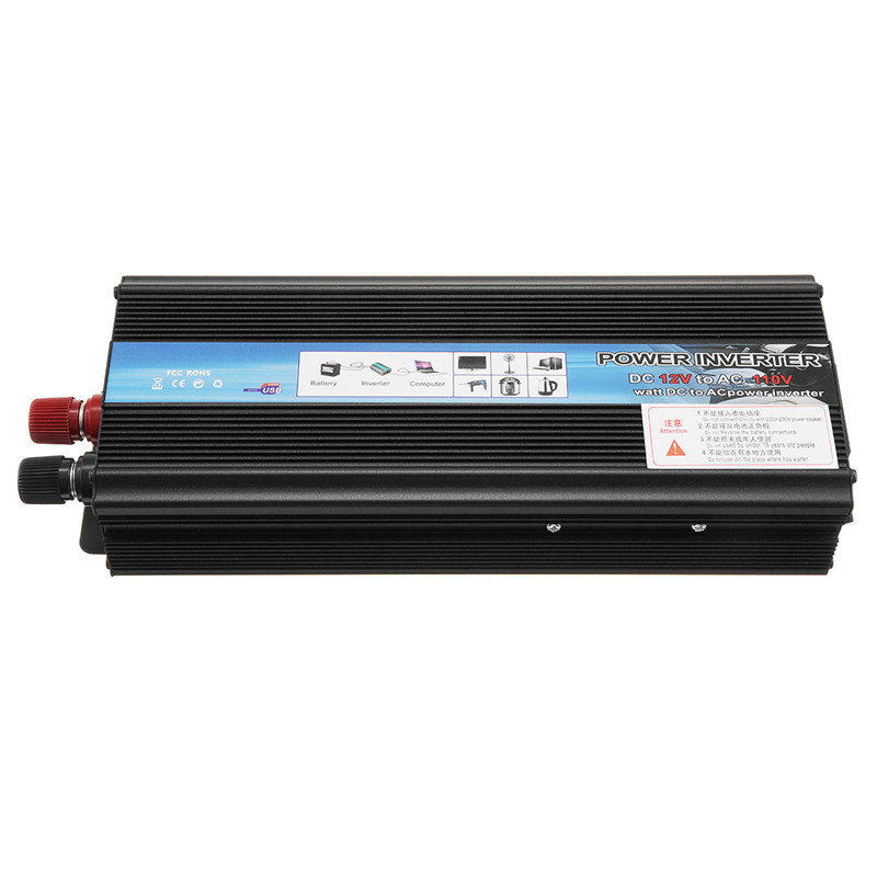 Inverter 12V 220V 5000W Peak Power Spannung Transformator Konverter 12V Zu 220V Solar Sinus Welle inverter