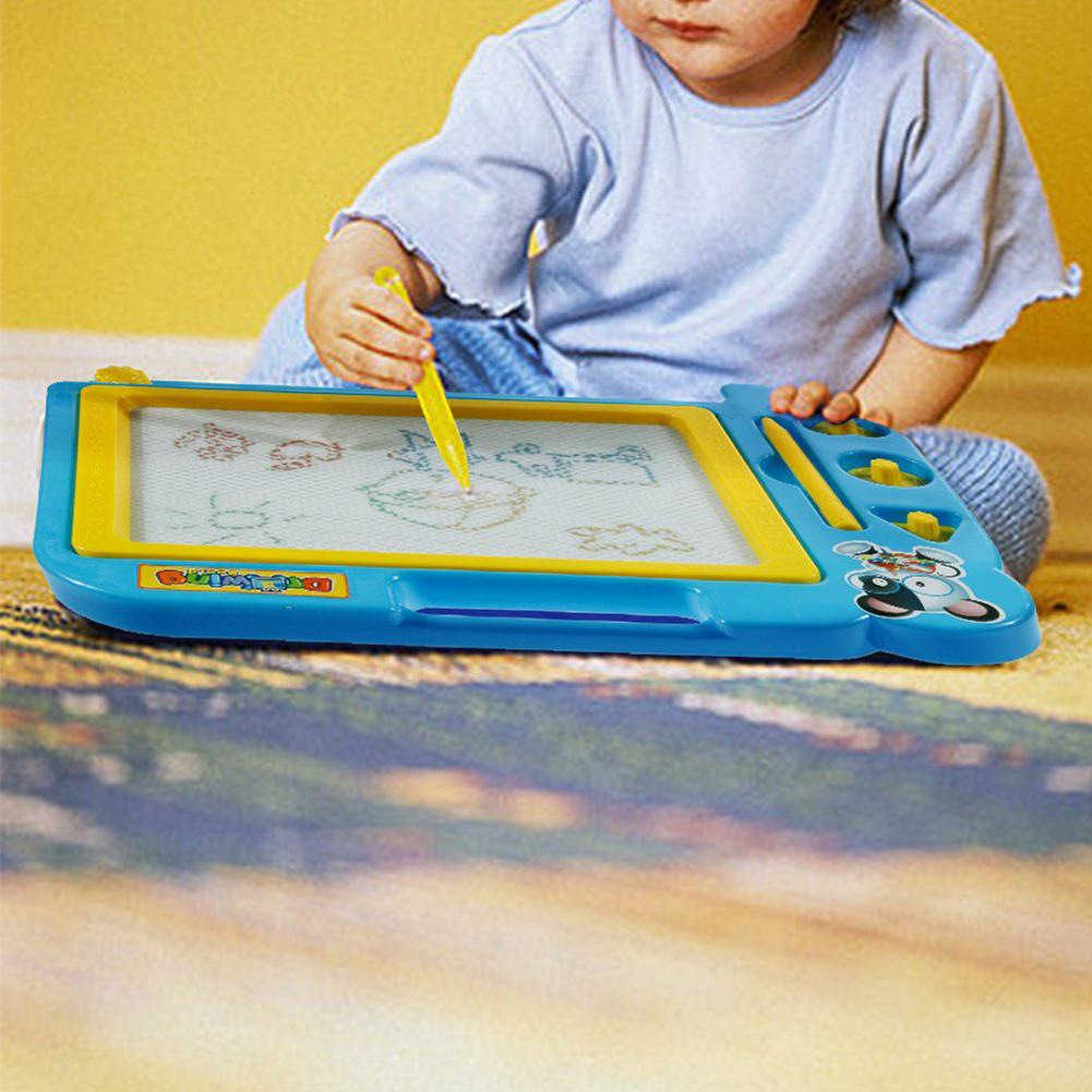 Erasable Writing Drawing Board Children Baby Early Education Toy Magnetic Doodle Painting Writing Drawing Board Toy For Children