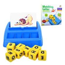 Лучшие продажи Bingo детские развивающие игрушки буквы с картинками, чтобы узнать слова английский раннего образования Учебные средства
