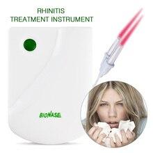 Импульсный лазерный Массажер для носа сена, бионаза для носа, для лечения ринитов, лечения синусита, инфракрасная терапия, прибор для ухода за носовым здоровьем