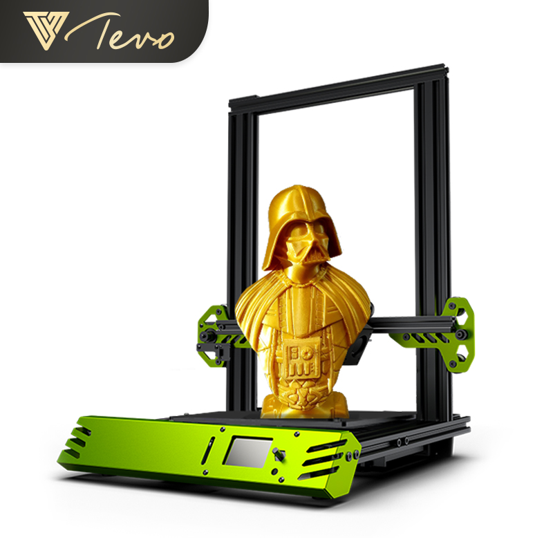TEVO Tarantula Pro 3D Printer DIY Kits in 2019 Newest Power Supply Adorable Buid Plate Free Shipping