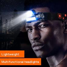 Мощная головная лампа многофункциональный источник светильник