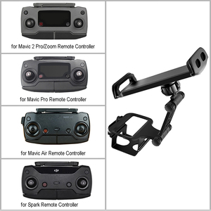 """Image 2 - 4.6"""" 11"""" Phone Tablet Holder Support Mount Stand for iPhone iPad Monitor Compatible for DJI Mavic 2 Spark Remote Contoller"""