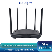 GC11 AC1200 Wireless WiFi Router with 2.4G/5.0G High Gain Antenna Wifi Repeater Dual Band Wireless Router,App Control