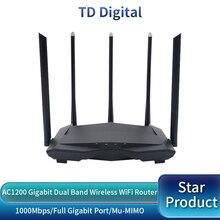GC11 AC1200 bezprzewodowy Router wi fi z 2.4G/5.0G antena o dalekim zasięgu wzmacniacz sygnału WiFi dwuzakresowy Router bezprzewodowy, kontrola aplikacji