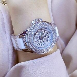 Image 3 - Della Vigilanza di modo Per Le Signore Della Vigilanza Del Quarzo Del Diamante di Cristallo Di Lusso Delle Donne di Strass Orologi Femminile Relojes Para Mujer Horloges Vrouwen
