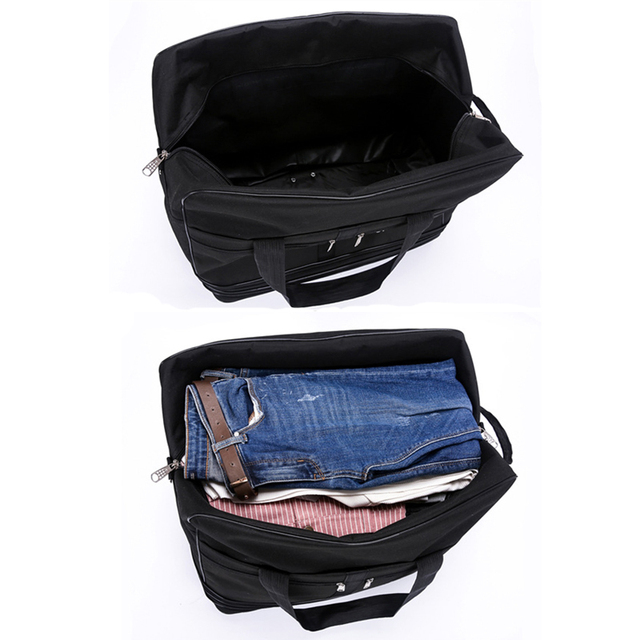 Folding Mobile Travel Bag On Wheels