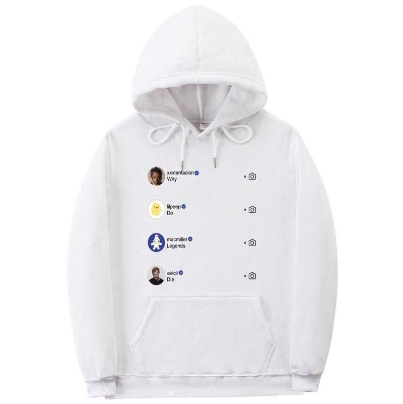 Newest Fashion XXXtentacion Hoodie Sweatshirt Rip Xxxtentacion Hip Hop Rapper Hoodies Men/Women Sweatshirts Hoodie Pullover