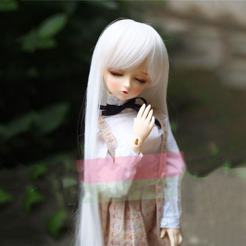 Bybrana Bjd Wig Girl Multiple Colour Long Hair 1/3 1/4 1/6 1/8 SD Dolls Free Shipping