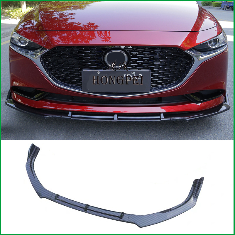 For Mazda 3 Axela 2014-16 Auto Part Black Front Bumper Lower Grille Cover Bodyki