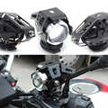 Faros de motocicleta Universal bombillas lámpara U5 LED foco Flash 12V apto para Honda CB190R VT1100 GROM MSX125 CB400SF