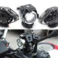 Universal Motorrad Motorrad Scheinwerfer Lampen Lampe U5 Led strahler Flash 12V Fit Für Honda CB190R VT1100 GROM MSX125 CB400SF auf