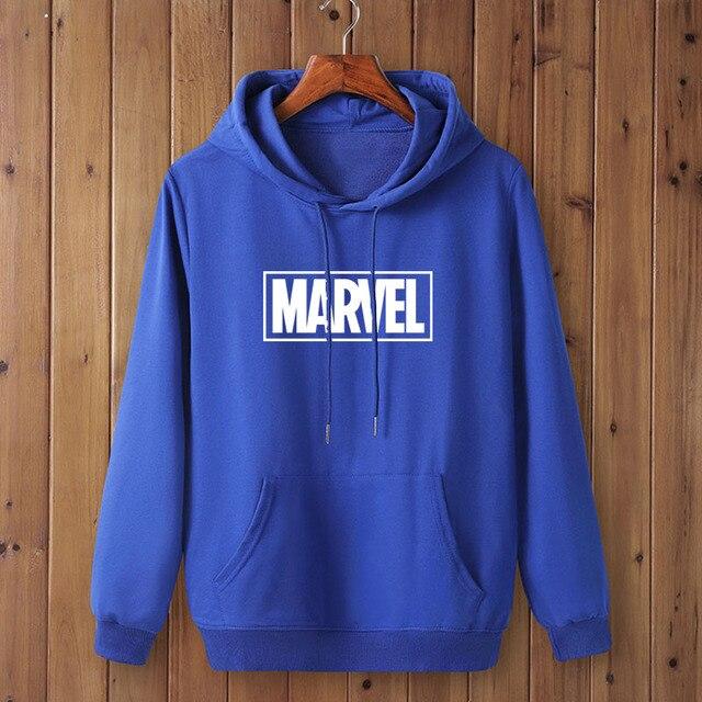 Marvel Logo Hoodie Unisex (16 Colors) 5