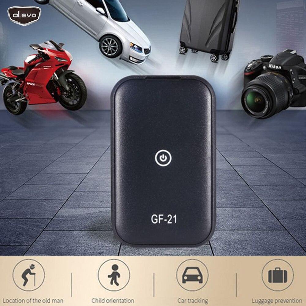 MiNi GF21 GPS Locator GPS Tracker Car Tracker Device Voice Control Spy Devices Anti-Lost Tracking Tracker Vehicle Tracker WIPI