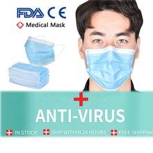FDA CE Surgical Mask KF94 Face Mask Medical Masks Mascherine Anti Virus FFP3 N95 Mouth Filter Anti Virus Disposable Mask Medical