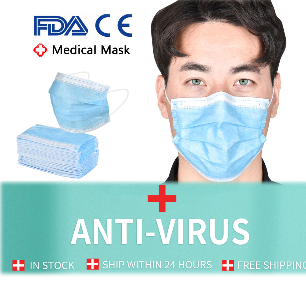 Surgical Mask KF94 Face Mask Medical Masks Mascherine Anti Virus FFP2 N95 Mouth Filter Anti Virus Disposable Mask Medical