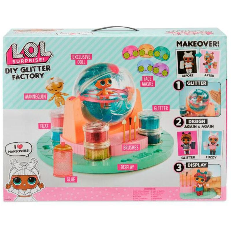 LOL poupées Original lol surprise poupées lols bricolage usine de paillettes lol surprise bébé poupée Capsule fille jouet cadeaux d'anniversaire avec boîte