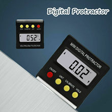 Mini transportador Digital de 360 grados, inclinómetro, caja de nivel electrónico, Base magnética, herramientas de medición, medidor, transportador