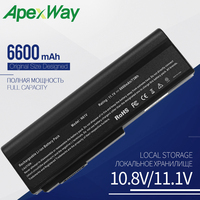 6600mah Laptop battery for ASUS A32 N61 B23 B33 G50 G51 G60 L50 M50 M60 N43 N52A N52D N52F N53 N61 Pro62 Pro64 Vx5 a1b X64