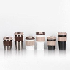 Image 2 - # جديد وصول #490 مللي/360 مللي كوب قهوة KKF طراز جديد كوب ترمس 316 من الفولاذ المقاوم للصدأ كوب مكتب