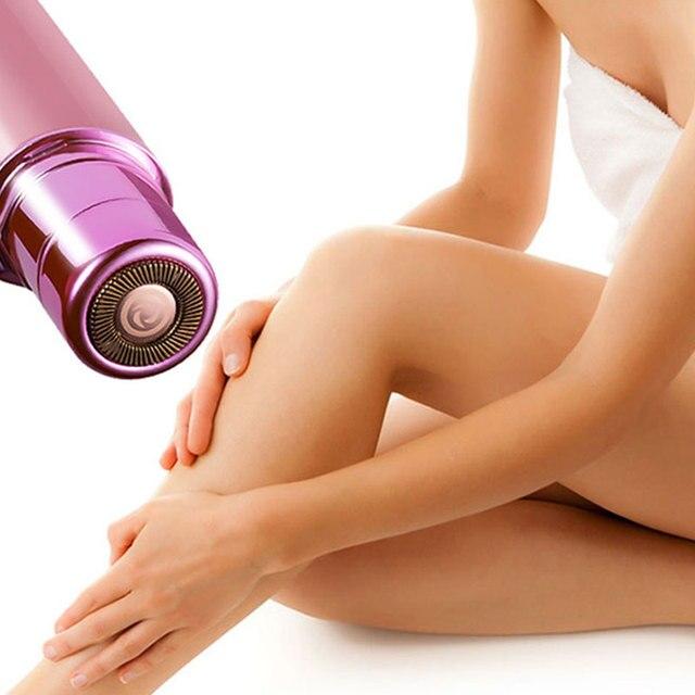 Portable Mini Electric Body Facial Hair Remover Depilator Epilator Eyebrow Shaver Bikini Body Face Neck Leg Hair Remover Tool 2