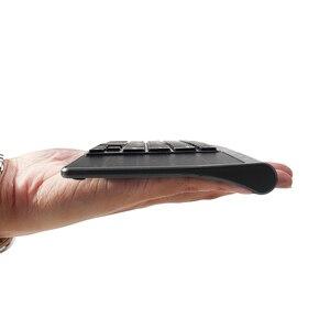 Image 4 - Ultra Dünne 2,4G Mini Drahtlose Tastatur Mit Touch Pad Büro Tastatur Für PC Windows Android Smart TV Box