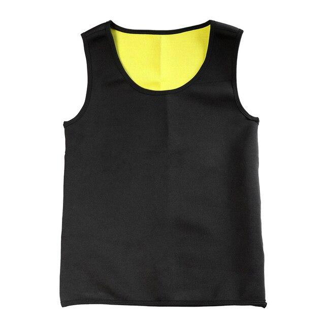 Slimming Belt Belly Men Slimming Vest Body Shaper Neoprene Aben Burning Shapewear Waist Sweat Corset Weight Dropshipping-M
