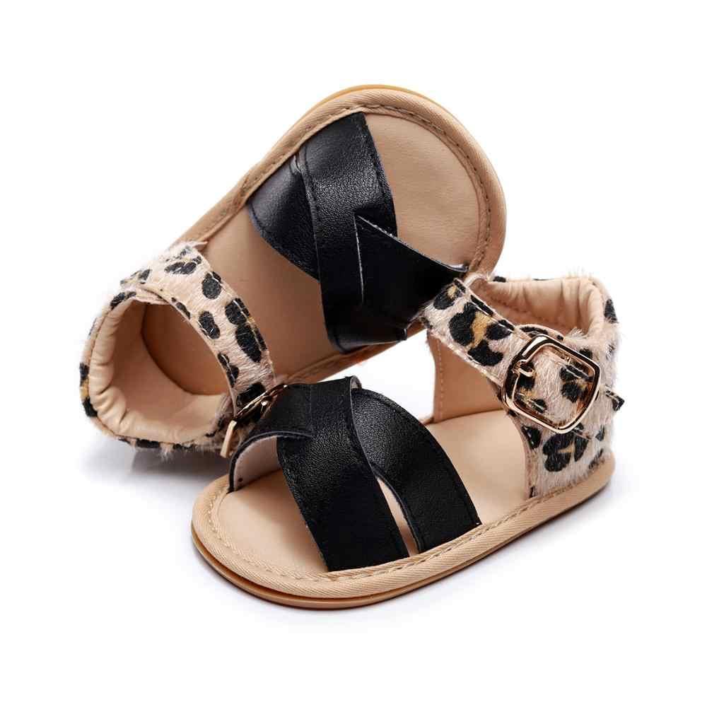 2020 תינוק קיץ נעלי יילוד תינוקות בייבי בנות בני סנדלי מוצק החלקה עור מפוצל לנשימה פעוט נעלי 0- 24M