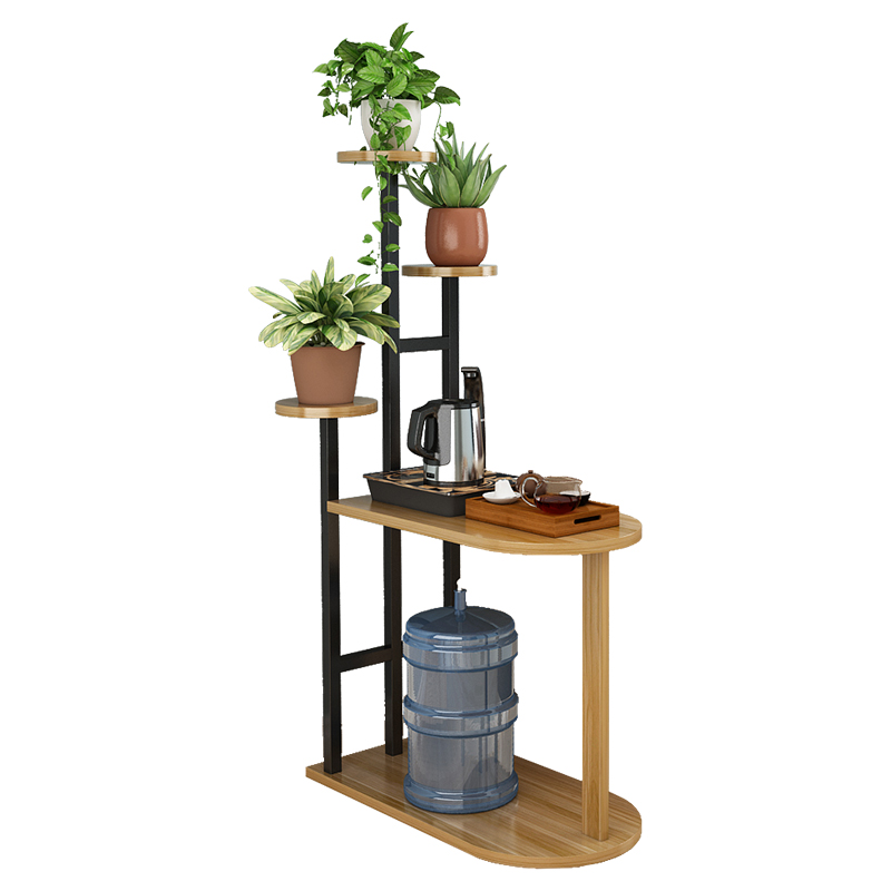 Floor Type Multi-storey Northern Europe Concise Flower Indoor Household A Living Room Green Laura. Flowerpot Wrought Iron