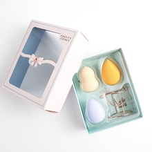 Makeup Egg Cosmetic Holder Non-latex Dry-wet Dual-use Powder Puff Tools