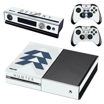 Game Destiny 2 Skin Sticker Decal For Xbox One Console and Kinect and 2 Controllers For Xbox One Skin Sticker Vinyl 1