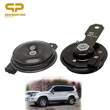 Alto-falante elétrico automotivo, alto-falante com disco elétrico, 12v, grave, alto-falante 105db, som clxon, buzina para carro, toyota, buzina, rav4, corolla camry vios reiz