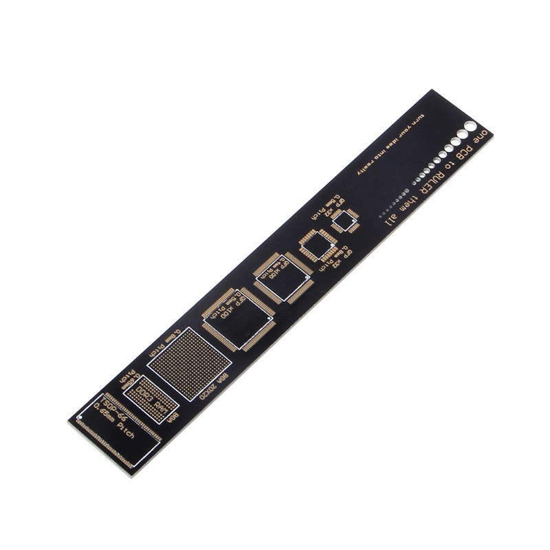 PCB Reference Ruler PCB Packaging Units For Electronic Engineers 40JE