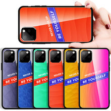 Fashion Gradient Pelindung Layar Anti Gores Case Screen Protector Film untuk Xiaomi 9 Redmi Note 5 7Pro 7A A3 Cover Capa tritone(China)
