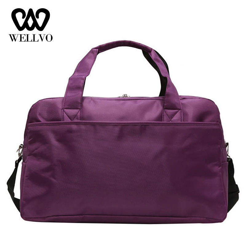 2019 Portable Travel Bags Women Suitcase Waterproof Nylon Traveling Bags For Ladies Hand Luggage Men Weekend Duffle Bag  XA816WB
